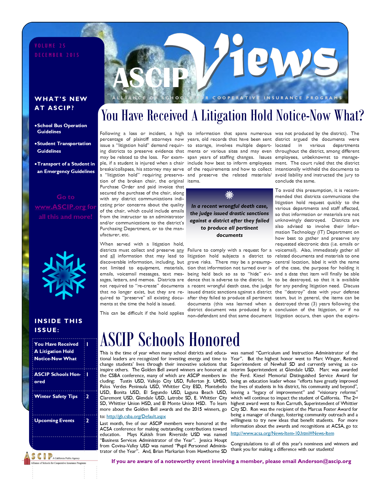 ASCIP Newsletter-December_2015